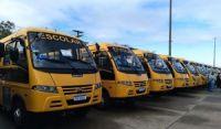 Mais de 40 cidades recebem novos ônibus escolares na Bahia