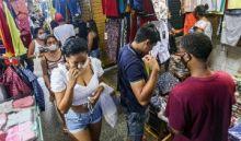 Feira registra redução de 64% de novos casos da Covid em julho